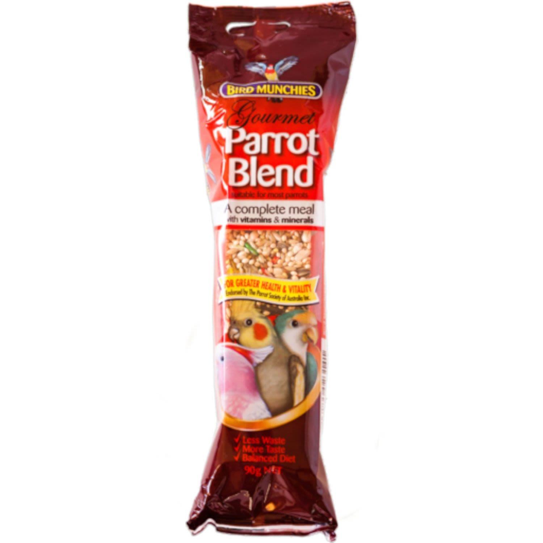 Bird Munchies Gourmet Parrot Blend, 90 Gram
