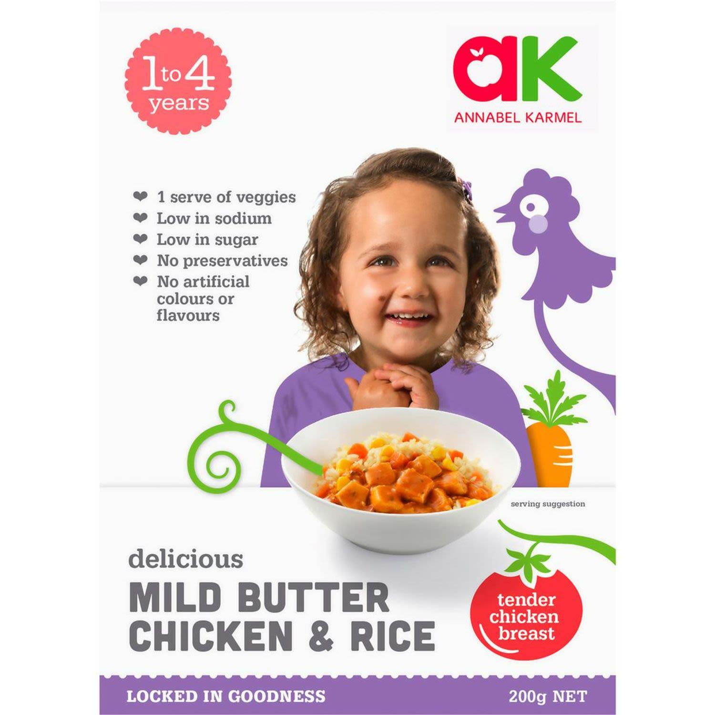 Annabel Karmel Butter Chicken & Rice, 200 Gram