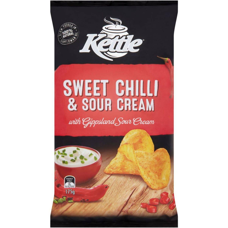 Kettle Sweet Chilli & Sour Cream, 175 Gram