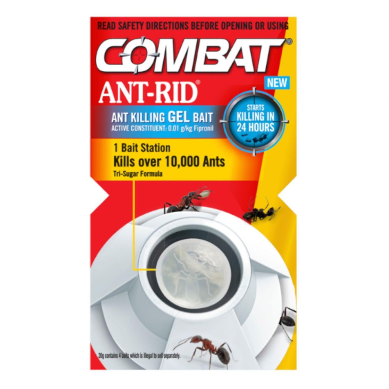 Combat Antrid Gel Bait, 4 Each
