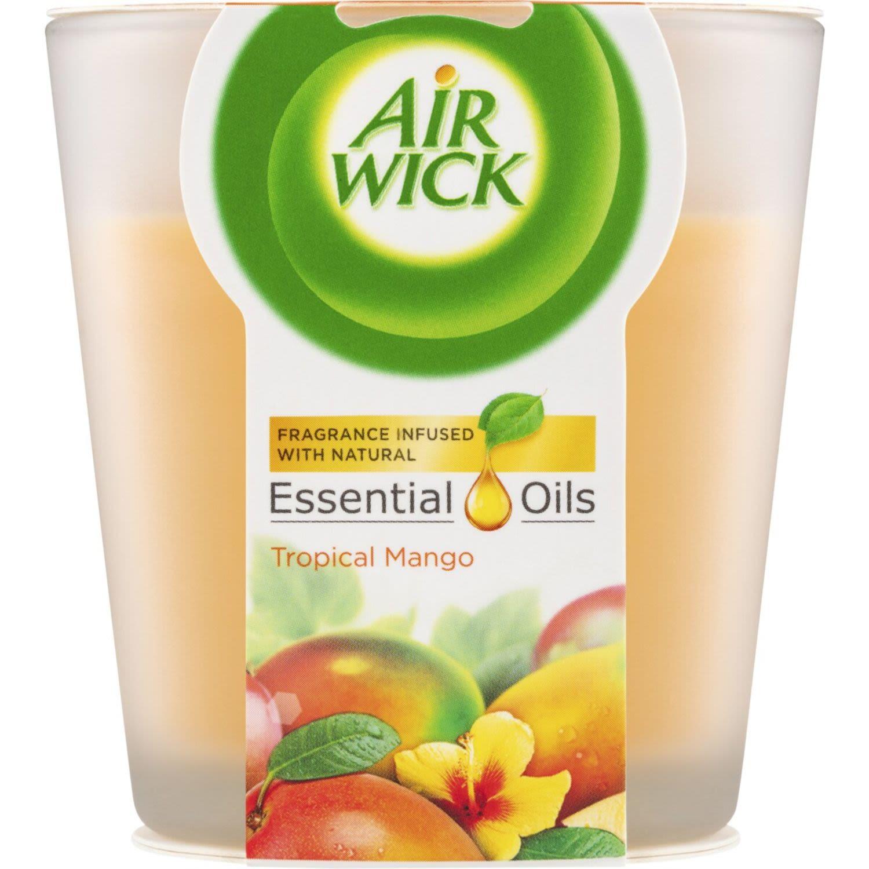 Air Wick Essential Oil Candle Mango, 105 Gram