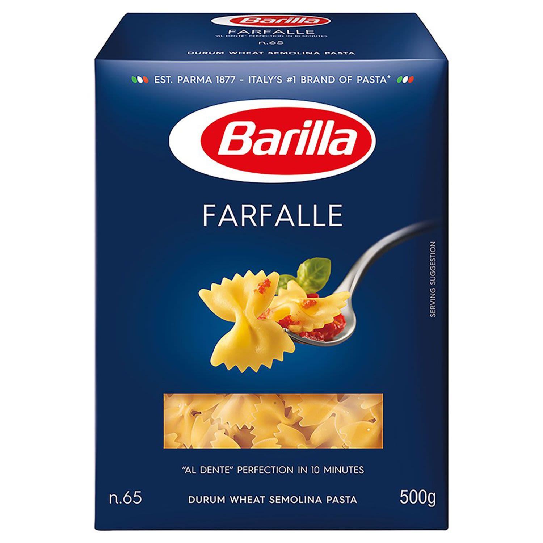 Barilla Bows Farfalle Pasta No 65, 500 Gram