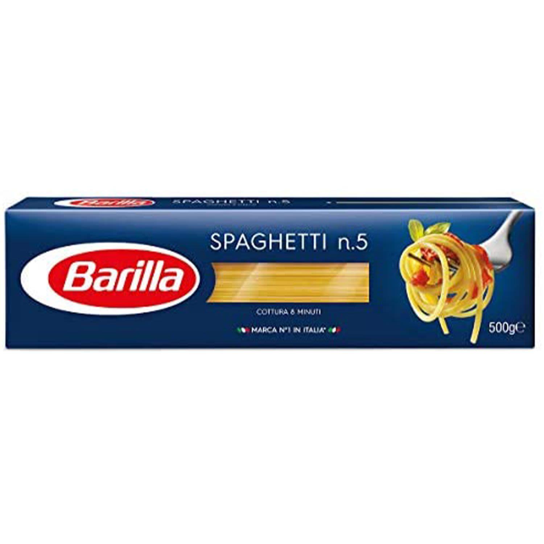 Barilla Spaghetti Pasta No 5, 500 Gram