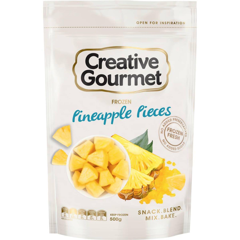 Creative Gourmet Pineapple Pieces, 500 Gram
