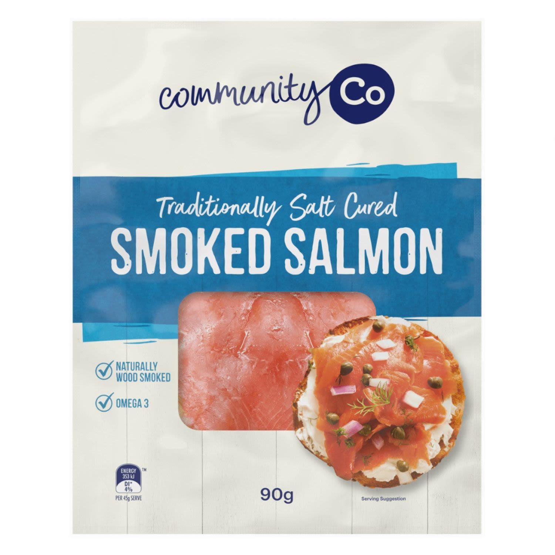 Community Co Smoked Salmon, 90 Gram