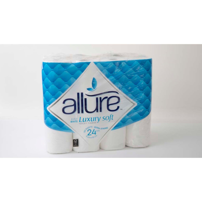 Allure Toilet Paper, 24 Each