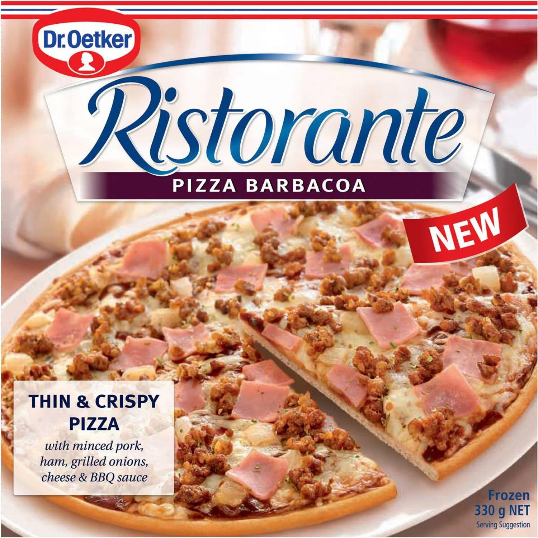 Dr. Oetker Ristorante Pizza Barbacoa, 330 Gram