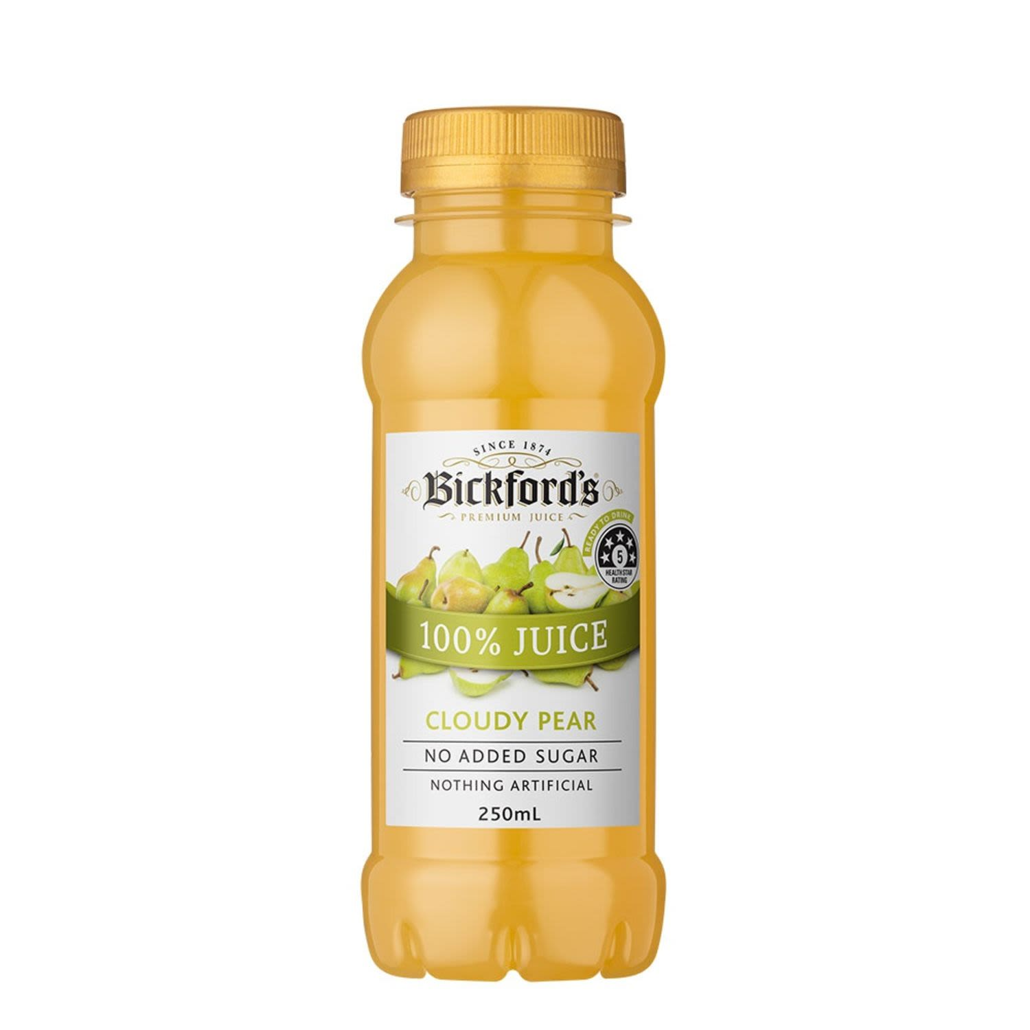 Bickford's Cord Cloudy Pear, 250 Millilitre