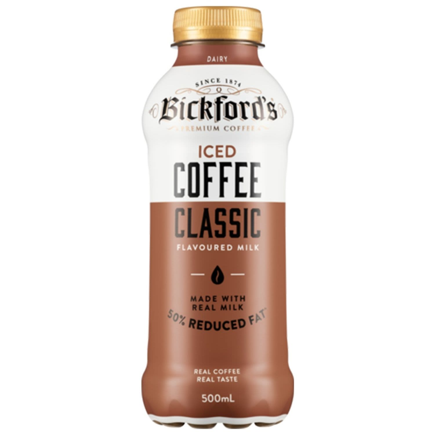 Bickford's Iced Coffee Classic, 500 Millilitre