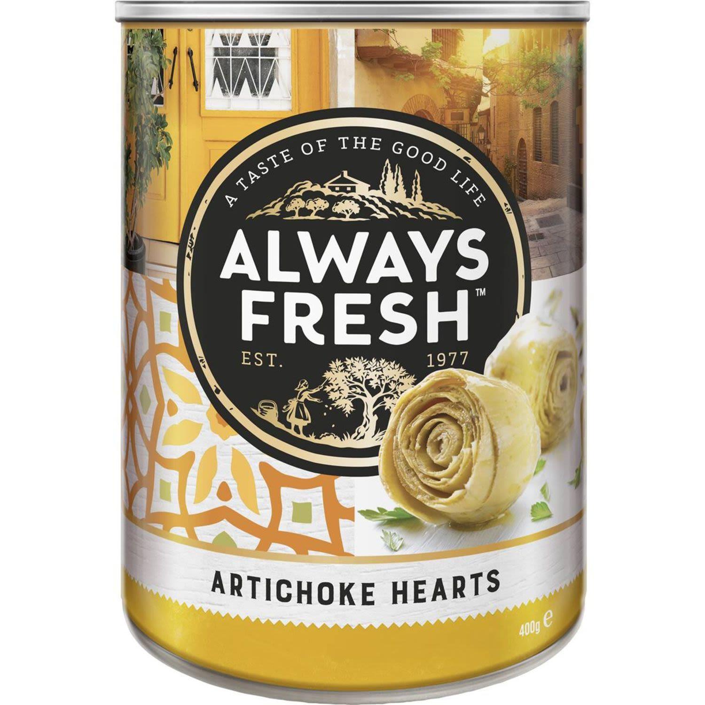 Always Fresh Artichoke Hearts, 400 Gram