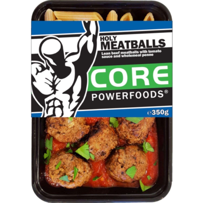 Core Powerfoods Beef Holly Meatballs, 350 Gram