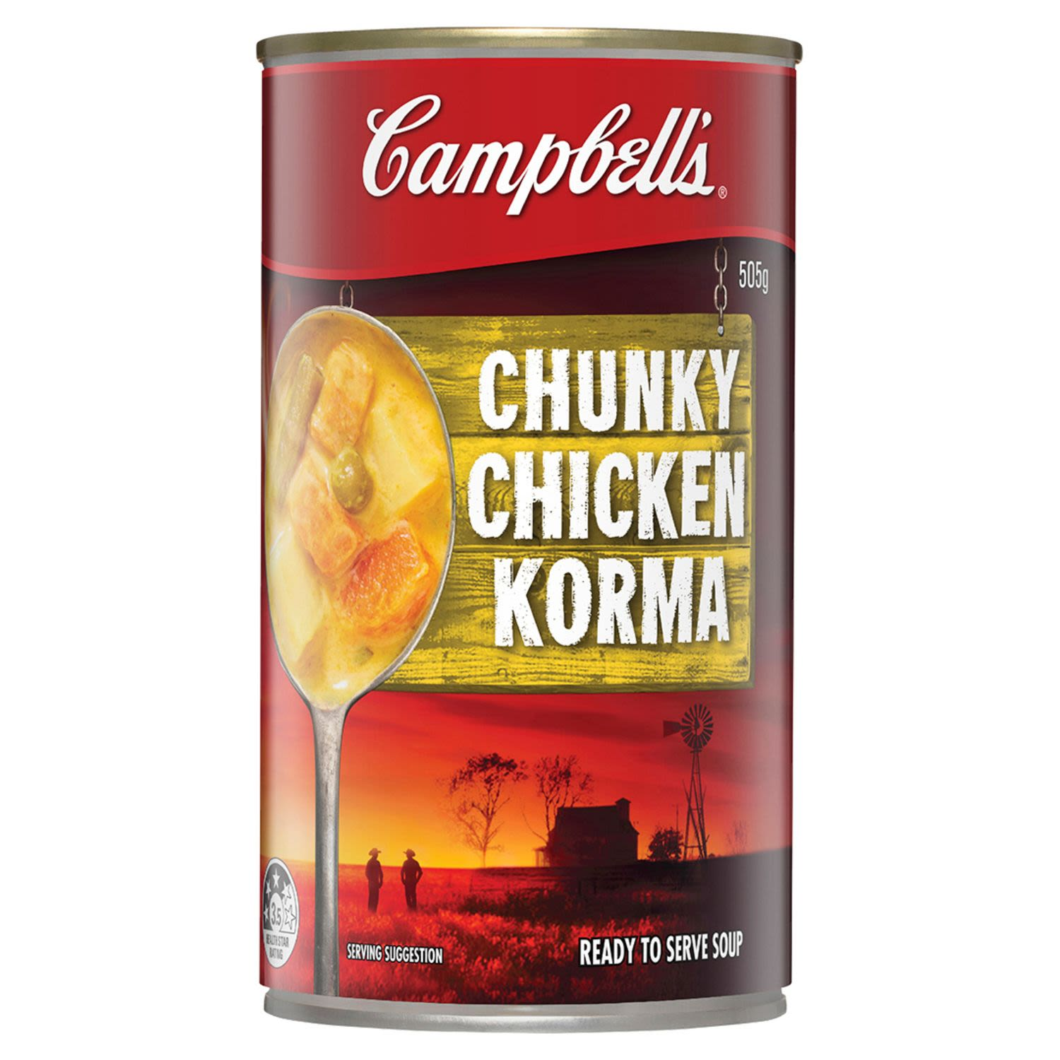 Campbell's Soup Chunky Chicken Korma, 505 Gram
