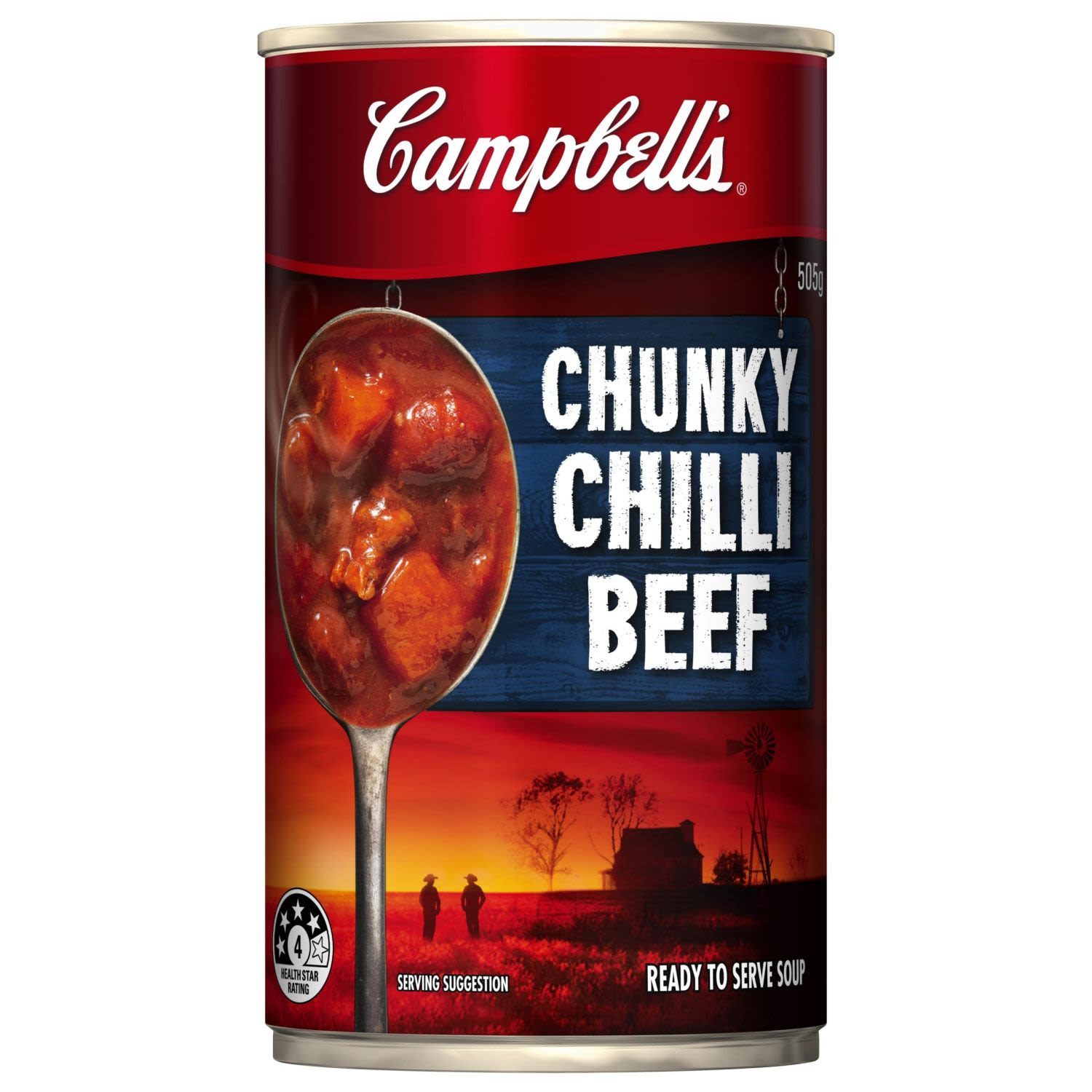 Campbell's Chunky Chilli Beef, 505 Gram
