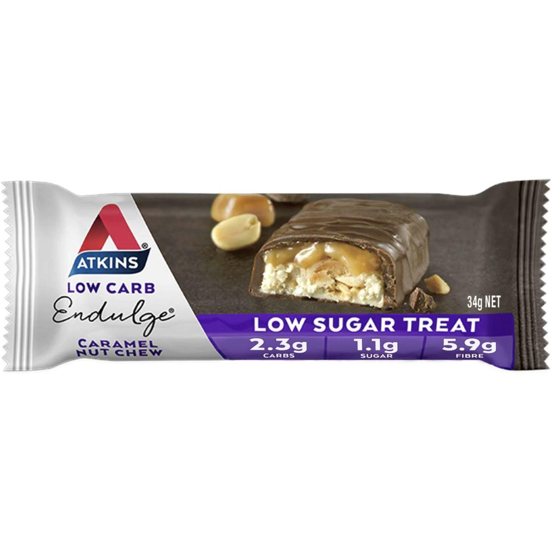 Atkins Endulge Bar Caramel Nut Chew, 34 Gram