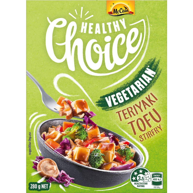 McCain Healthy Choice Vegetarian Teriyaki Tofu Stirfry, 280 Gram