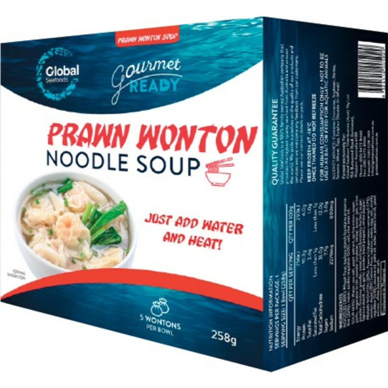 Global Seafoods Prawn Wonton Noodle Soup , 258 Gram