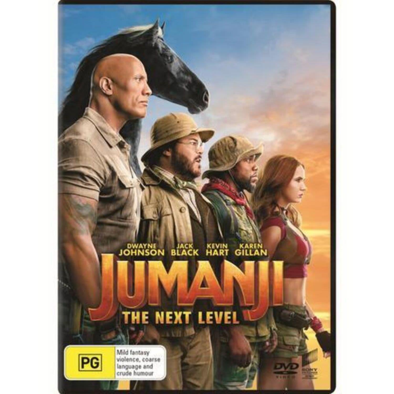 Jumanji The Next Level DVD, 1 Each
