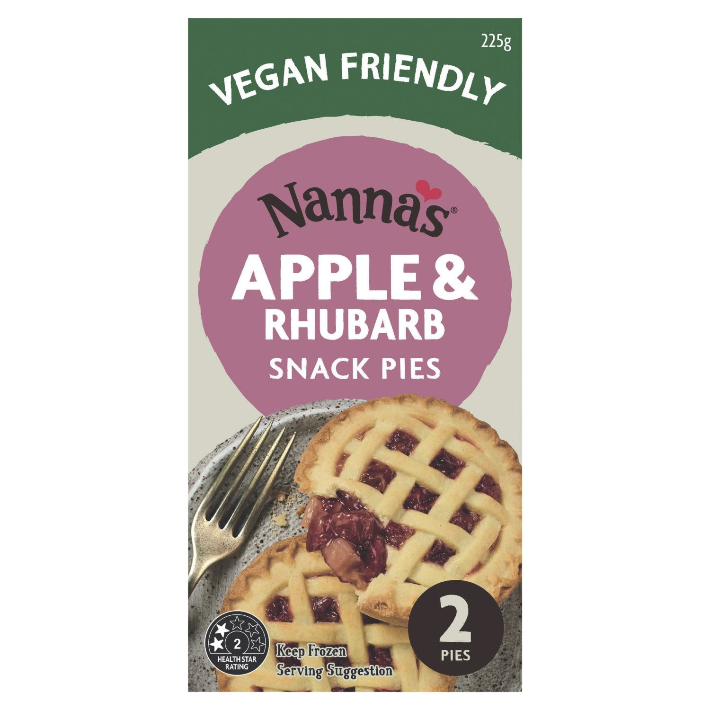 Nanna's Apple & Rhubarb Snack Pies, 2 Each