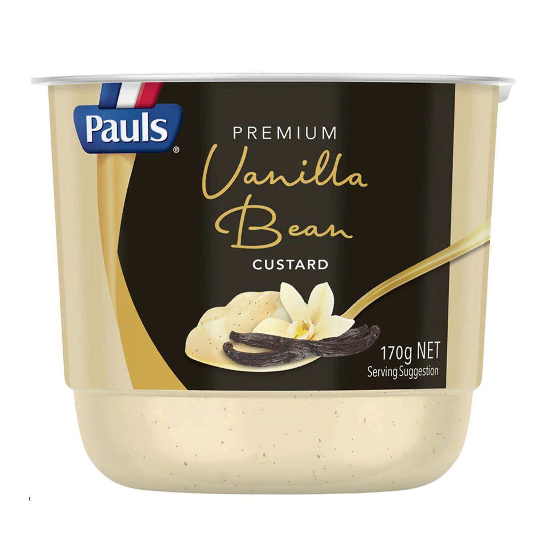 Pauls Premium Vanilla Bean Custard, 170 Gram