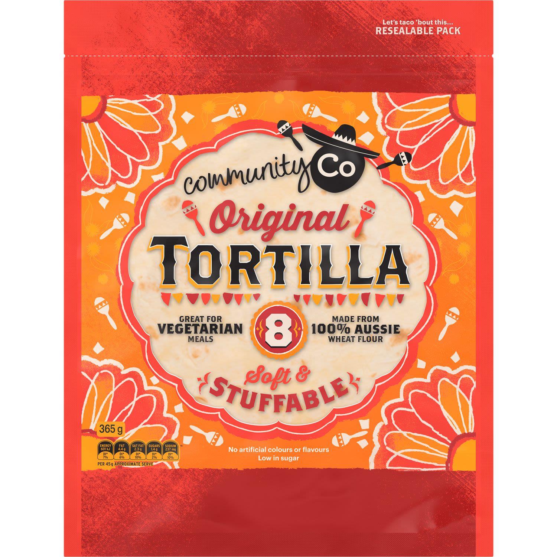 Community Co Original Tortilla, 8 Each