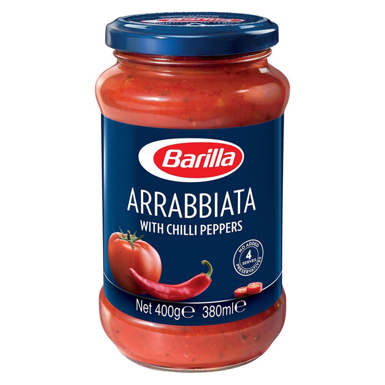 Barilla Pasta Sauce Arrabbiata Chilli, 400 Gram