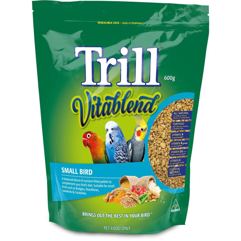 Trill Food Pellets Small Birds , 600 Gram