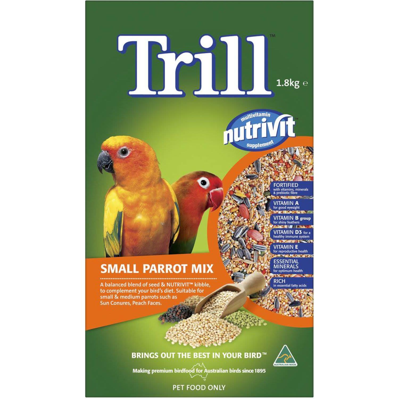 Trill Small Parrot Mix , 1.8 Kilogram