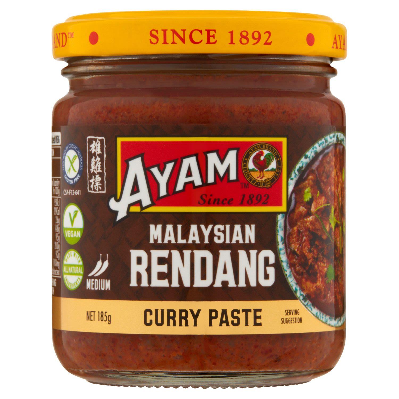 Ayam Curry Paste Rendang, 185 Gram