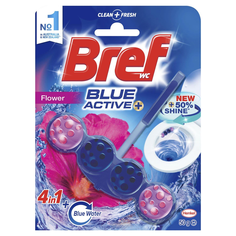 Bref Blue Active Toilet Cleaner Chlorine, 50 Gram