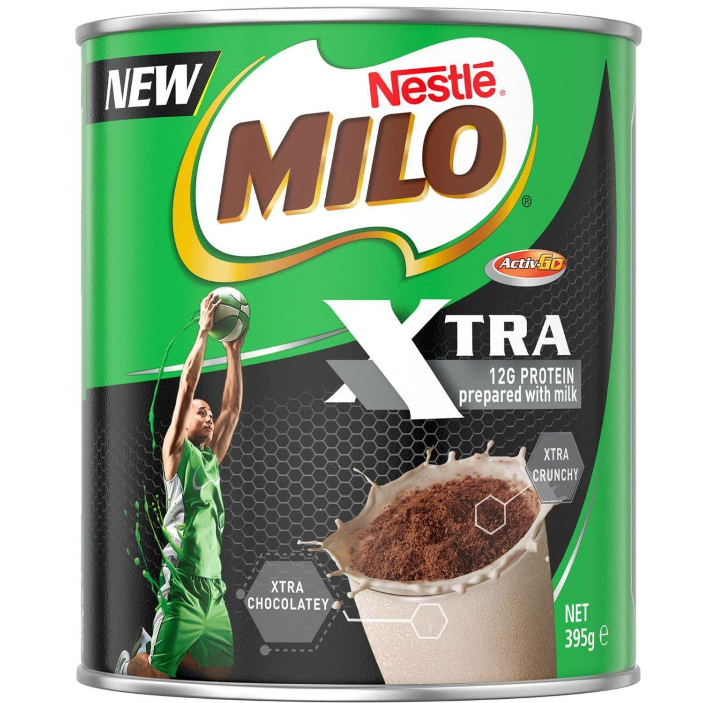 Nestlé Milo Xtra Drinking Chocolate, 395 Gram