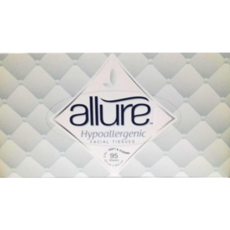 Allure Tissues Hypoallergenic, 95 Each