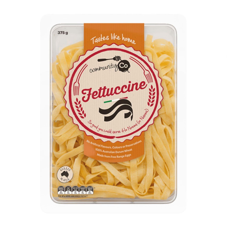 Community Co Fresh Fettuccine, 375 Gram