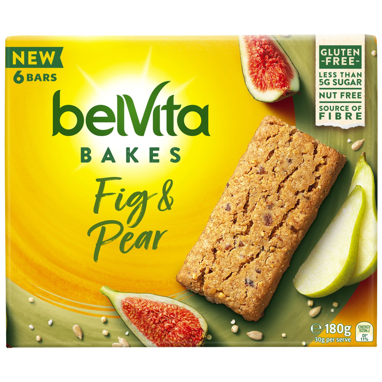 Belvita Bakes Fig & Pear, 180 Gram