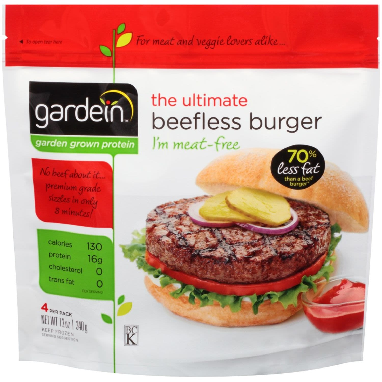Gardein Meat Free Beefless Burger, 340 Gram