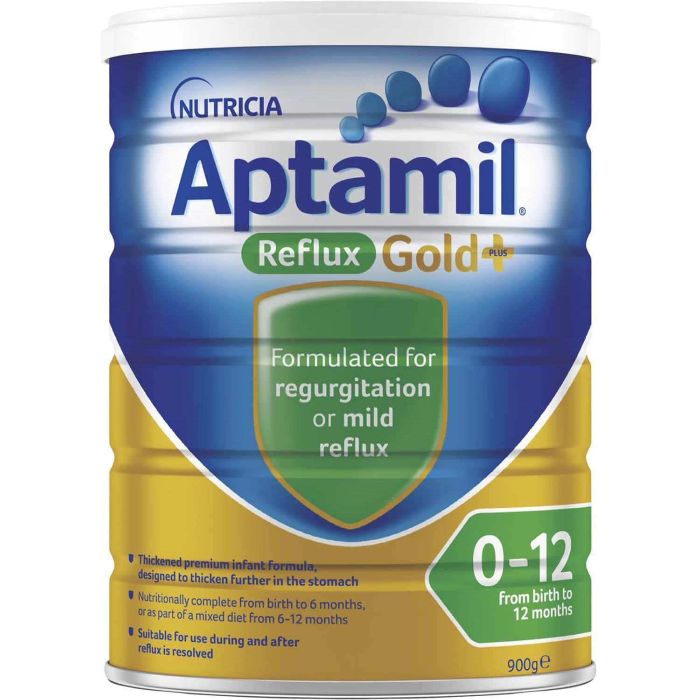 Aptamil Reflux Gold Infant Formula 0-12 Months, 900 Gram