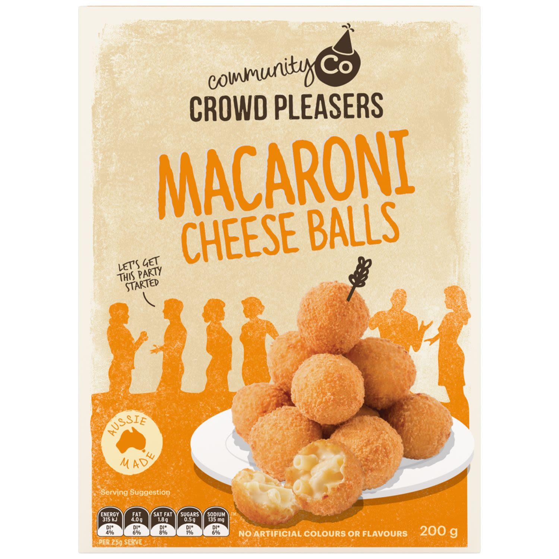 Community Co Mac & Cheese Balls, 200 Gram