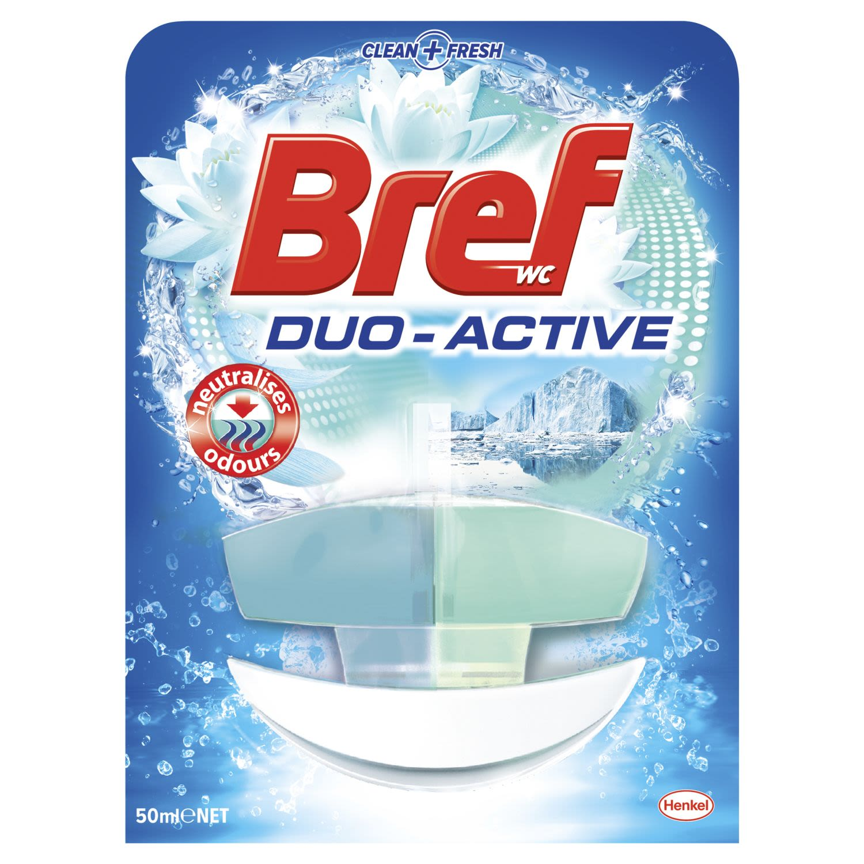 Bref Duo Active Odour Stop, Rim Block Toilet Cleaner, 50 Millilitre