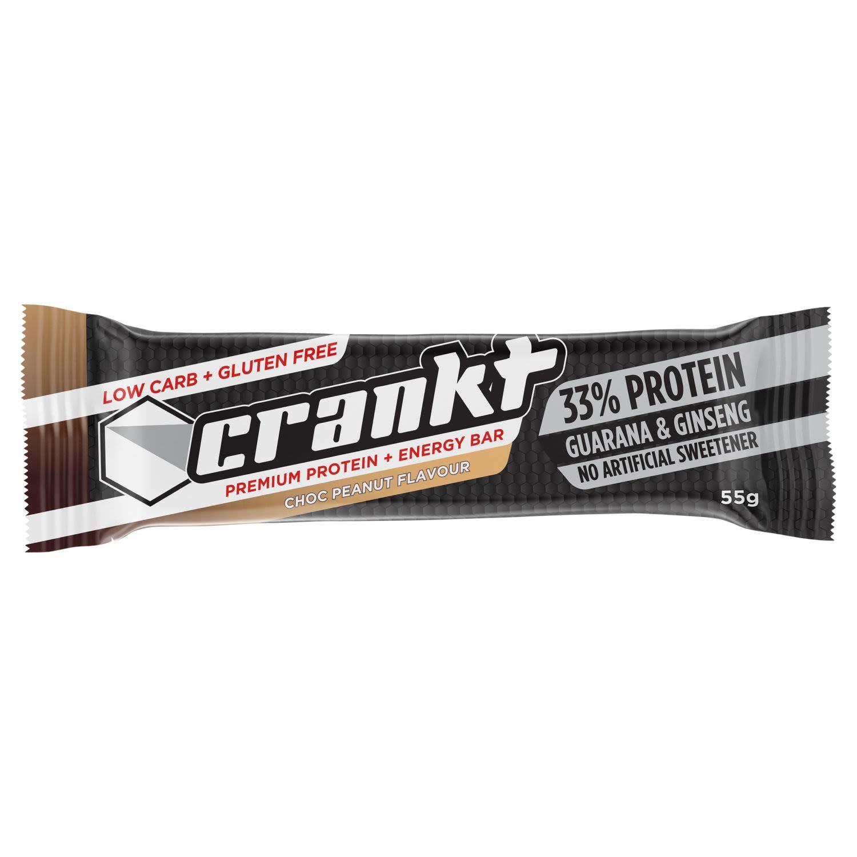 Crankt Bar Choc Peanut Flavour, 55 Gram