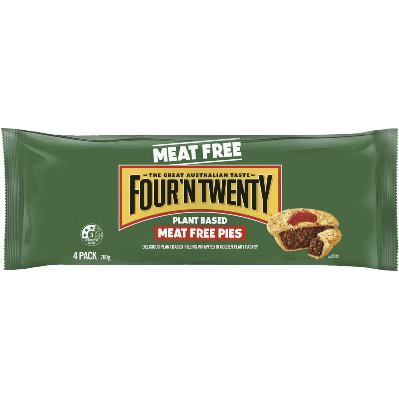 Four 'N Twenty Meat Free Pie, 4 Each