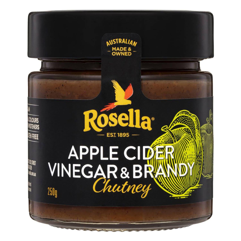 Rosella Apple Cider Vinegar & Brandy Chutney, 250 Gram