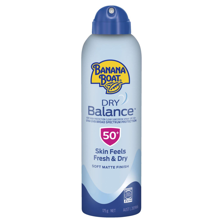 Banana Boat Dry Balance Clear Spray SPF 50, 175 Gram