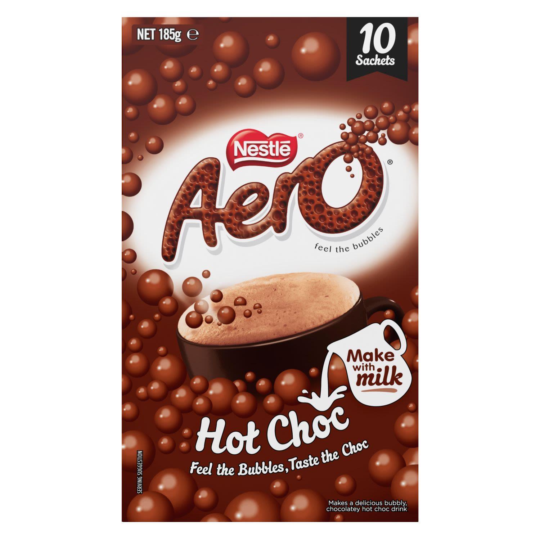 Nestlé Hot Chocolate Aero, 10 Each