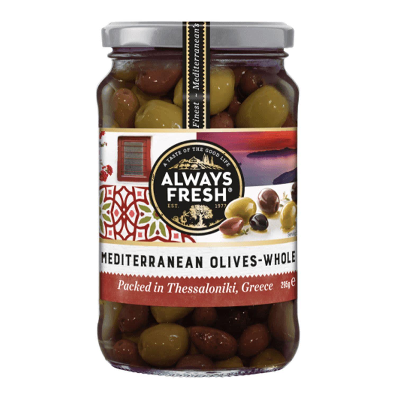 Always Fresh Mediterranean Olives, 259 Gram