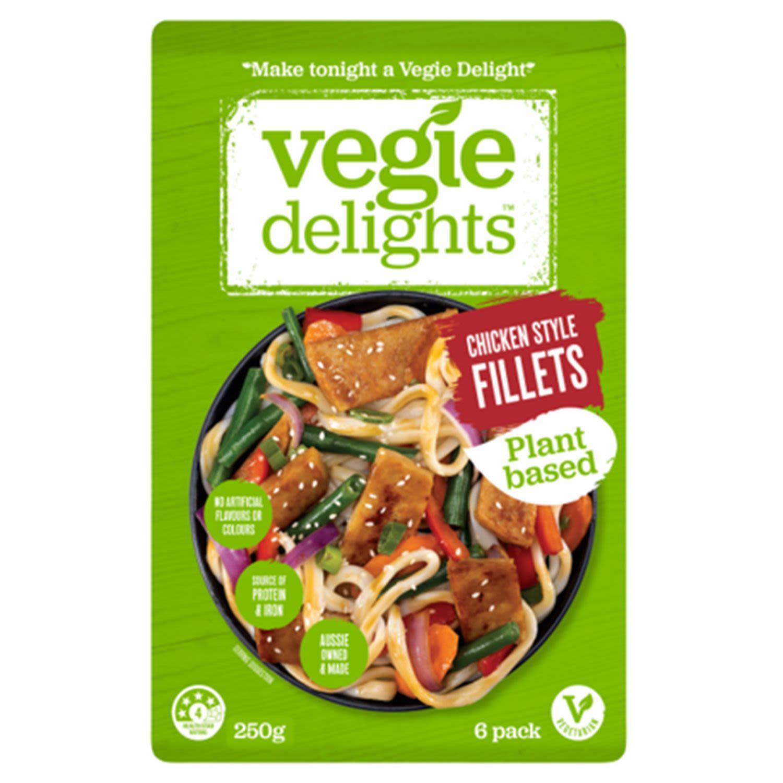 Vegie Delights Tender Fillet, 250 Gram