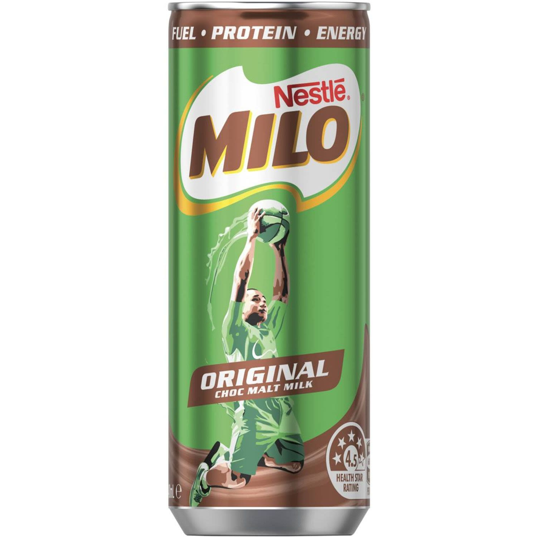 Milo Original Can, 240 Millilitre