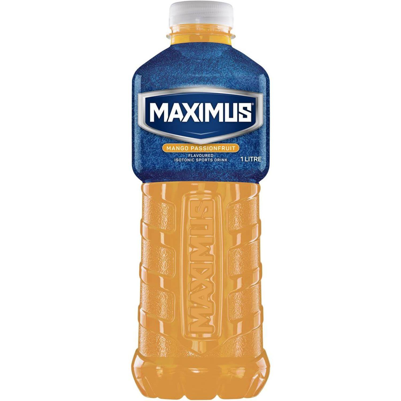 Maximus Mango Passionfruit Drink, 1 Litre