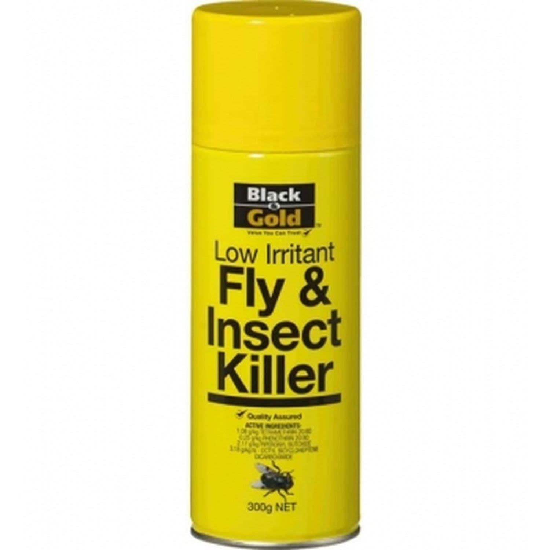 Black & Gold Fly Spray Low Irritant, 300 Gram