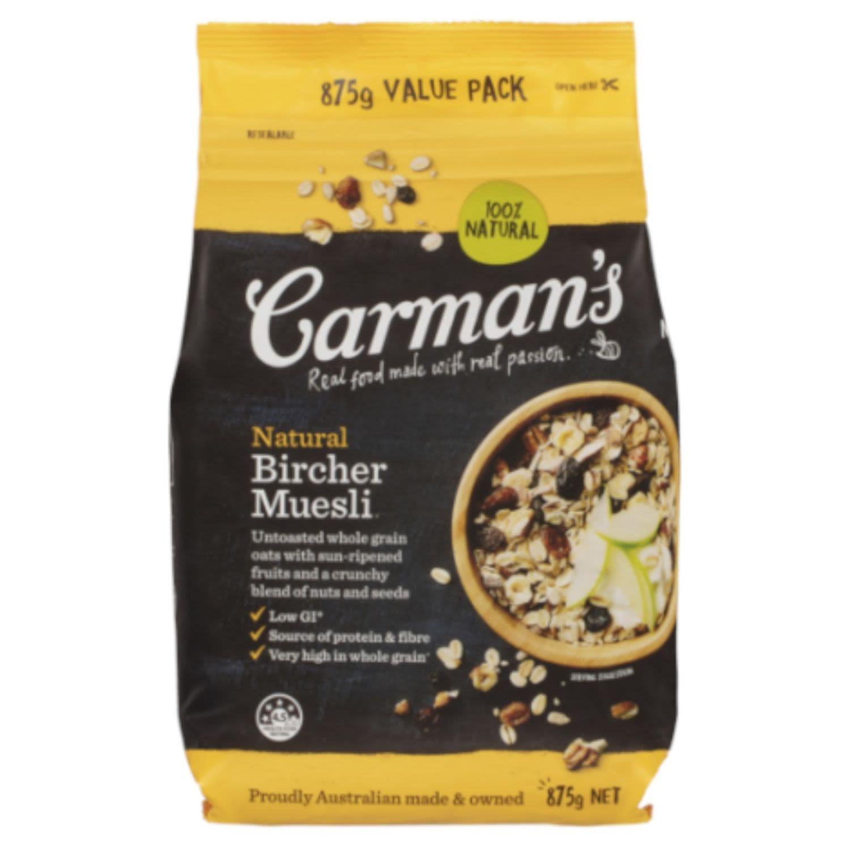 Carman's Bircher Muesli, 875 Gram