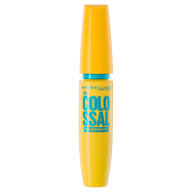 Maybelline Colossal Volumizing Waterproof Mascara In Glam Black, 8 Millilitre