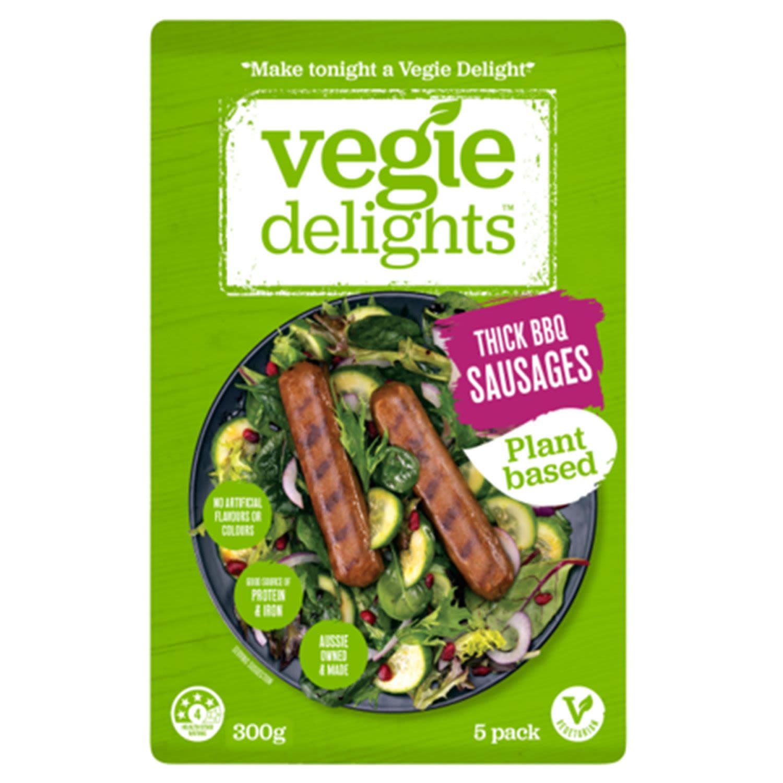 Vegie Delights Sausage BBQ, 300 Gram